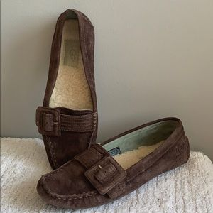 UGG Retreat 5767 fur Driving Loafer Slippers 6